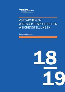 Jahresgutachten des Sachverständigenrats 2018/19