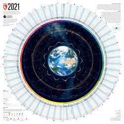 Jahreskalender 2021 von Cosmic,  Watch, Lana,  Bragin, Tobias,  Weber