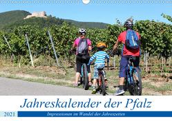 Jahreskalender der Pfalz (Wandkalender 2021 DIN A3 quer) von Herrmann,  Udo