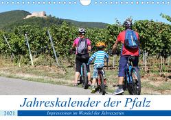 Jahreskalender der Pfalz (Wandkalender 2021 DIN A4 quer) von Herrmann,  Udo