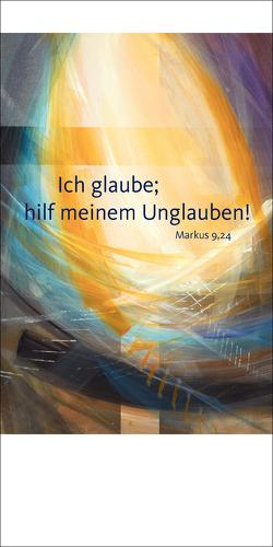 Jahreslosung 2020 – Faltkarte mit Betrachtung (5er-Set) von Münch,  Eberhard