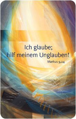 Jahreslosung 2020 – Kalender im Scheckkartenformat (10er-Set) von Münch,  Eberhard