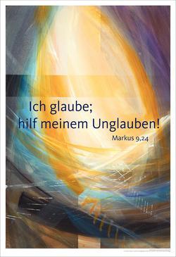 Jahreslosung 2020 – Kunstdruck 63 x 92 cm von Münch,  Eberhard