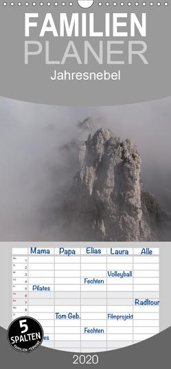 Jahresnebel – Familienplaner hoch (Wandkalender 2020 , 21 cm x 45 cm, hoch) von Seidl,  Hans