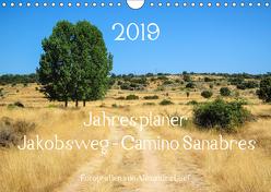 Jahresplaner Jakobsweg – Camino Sanabres (Wandkalender 2019 DIN A4 quer) von Luef,  Alexandra