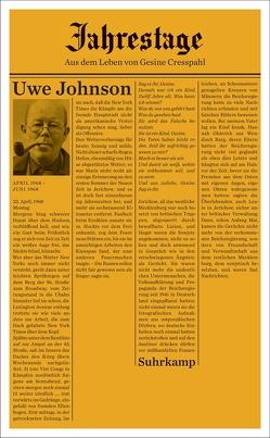 Jahrestage 3 von Johnson,  Uwe