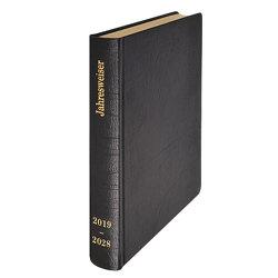 Jahresweiser 2019-2028 Leder schwarz von Wiermer,  Hubert