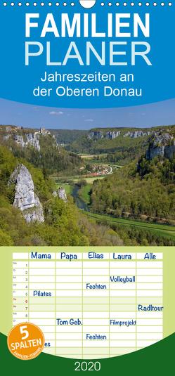 JahresZeiten an der Oberen Donau – Familienplaner hoch (Wandkalender 2020 , 21 cm x 45 cm, hoch) von Beck,  Andreas