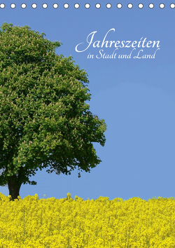 Jahreszeiten in Stadt und Land (Tischkalender 2021 DIN A5 hoch) von Huschka,  Klaus-Peter