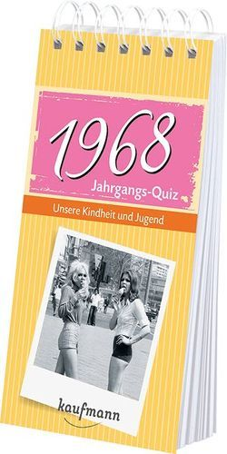 Jahrgangs-Quiz 1968 von Jacob,  Tom