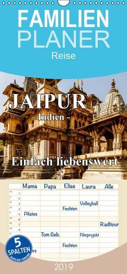 Jaipur -Indien- einfach liebenswert – Familienplaner hoch (Wandkalender 2019 , 21 cm x 45 cm, hoch) von Baumert,  Frank