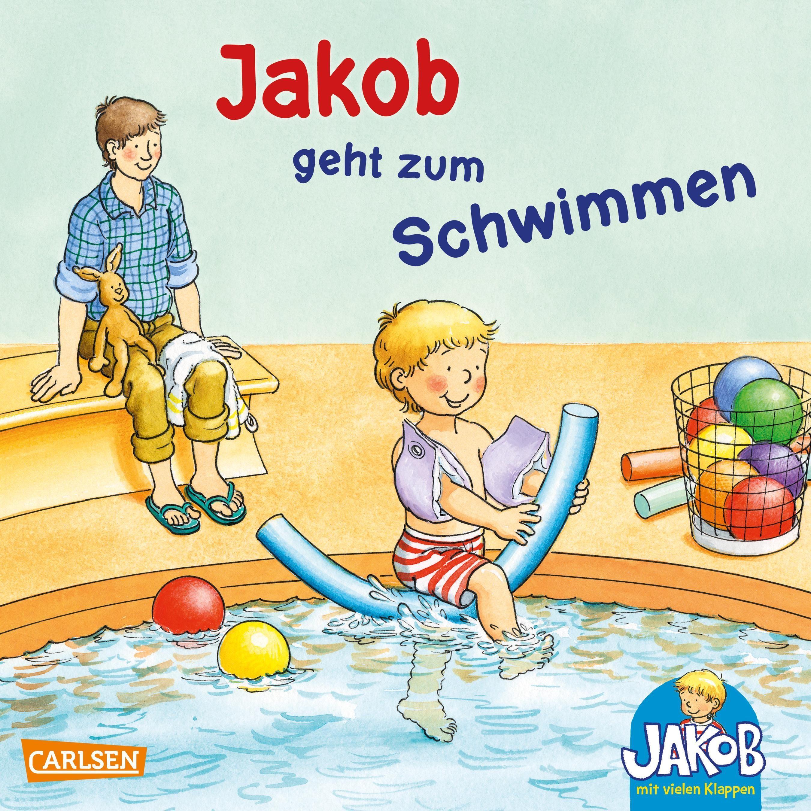 Jakob geht zum schwimmen von friedl peter grimm sandra for Naturteich zum schwimmen