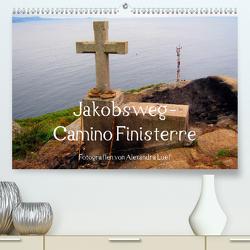 Jakobsweg – Camino Finisterre (Premium, hochwertiger DIN A2 Wandkalender 2021, Kunstdruck in Hochglanz) von Luef,  Alexandra