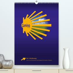 Jakobsweg – Camino Francés (Premium, hochwertiger DIN A2 Wandkalender 2021, Kunstdruck in Hochglanz) von Vossemer,  Stefan