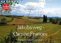 Jakobsweg – Camino Frances (Tischkalender 2019 DIN A5 quer) von Luef,  Alexandra