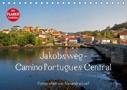 Jakobsweg – Camino Portugues Central (Tischkalender 2018 DIN A5 quer) von Luef,  Alexandra
