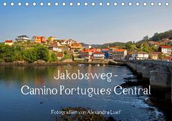 Jakobsweg – Camino Portugues Central (Tischkalender 2020 DIN A5 quer) von Luef,  Alexandra