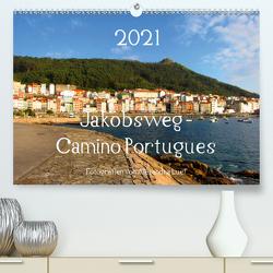 Jakobsweg – Camino Portugues (Premium, hochwertiger DIN A2 Wandkalender 2021, Kunstdruck in Hochglanz) von Luef,  Alexandra