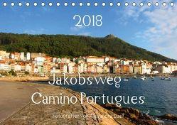 Jakobsweg – Camino Portugues (Tischkalender 2018 DIN A5 quer) von Luef,  Alexandra