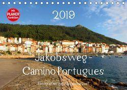 Jakobsweg – Camino Portugues (Tischkalender 2019 DIN A5 quer) von Luef,  Alexandra
