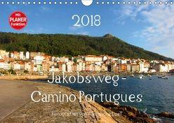 Jakobsweg – Camino Portugues (Wandkalender 2018 DIN A4 quer) von Luef,  Alexandra