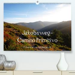 Jakobsweg – Camino Primitivo (Premium, hochwertiger DIN A2 Wandkalender 2021, Kunstdruck in Hochglanz) von Luef,  Alexandra