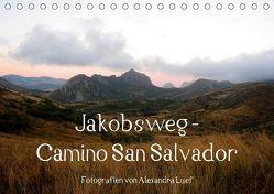 Jakobsweg – Camino San Salvador (Tischkalender 2019 DIN A5 quer) von Luef,  Alexandra