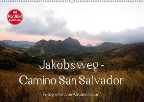 Jakobsweg – Camino San Salvador (Wandkalender 2018 DIN A2 quer) von Luef,  Alexandra