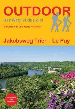 Jakobsweg Trier – Le Puy von Retterath,  Ingrid, Simon,  Martin