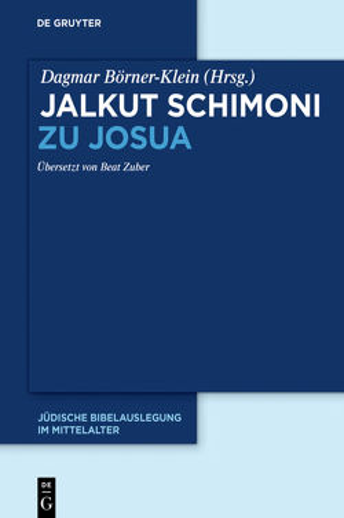 Jalkut Schimoni / Jalkut Schimoni zu Josua von Börner-Klein,  Dagmar, Zuber,  Beat