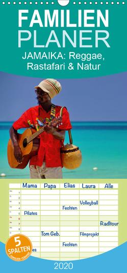 JAMAIKA Reggae, Rastafari und Natur. – Familienplaner hoch (Wandkalender 2020 , 21 cm x 45 cm, hoch) von M.Polok