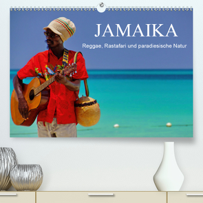 JAMAIKA Reggae, Rastafari und paradiesische Natur. (Premium, hochwertiger DIN A2 Wandkalender 2021, Kunstdruck in Hochglanz) von M.Polok