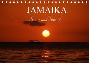 Jamaika Sonne und Strand (Tischkalender 2018 DIN A5 quer) von M.Polok