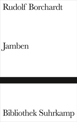 Jamben von Borchardt,  Rudolf, Lenk,  Elisabeth