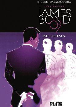 James Bond. Band 6 (lim. Variant Edition) von Casalanguida,  Luca, Diggle,  Andy, Fleming,  Ian