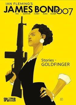 James Bond Stories 2: Goldfinger (limitierte Edition) von Carey,  Robert, Gapstur,  Eric, Pak,  Greg