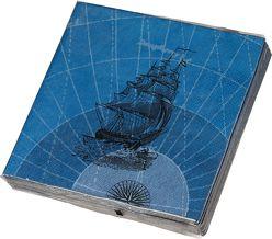 James Cook Papierservietten Motiv The Voyages von Schöll,  Stephan
