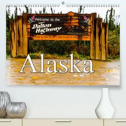 James Dalton Highway Alaska (Premium, hochwertiger DIN A2 Wandkalender 2021, Kunstdruck in Hochglanz) von Baumert,  Frank