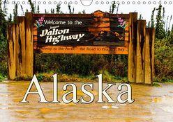 James Dalton Highway Alaska (Wandkalender 2019 DIN A4 quer) von Baumert,  Frank