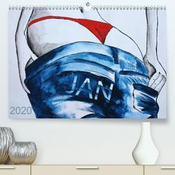 JAN – Namenskalender (Premium, hochwertiger DIN A2 Wandkalender 2020, Kunstdruck in Hochglanz) von SchnelleWelten