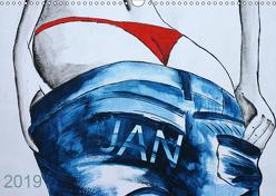 JAN – Namenskalender (Wandkalender 2019 DIN A3 quer) von SchnelleWelten