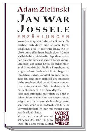 Jan war Jossele von Zielinski,  Adam