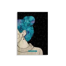 """Jana Notizbuch A5 """"Blue Starry Sky"""" (blanko, farbig) von Reymann,  Christina"""