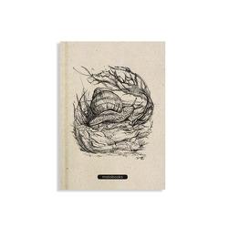 "Jana Notizbuch A5 ""Snail"" (blanko, farbig) von Hegewald,  Mandy"