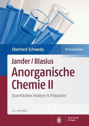 Jander/Blasius, Anorganische Chemie II von Schweda,  Eberhard