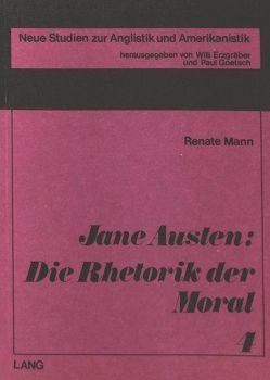 Jane Austen: die Rhetorik der Moral