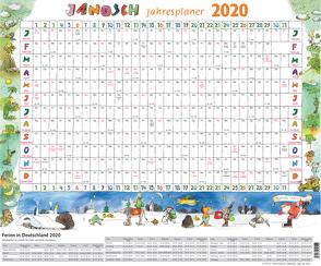 Janosch Jahresplaner 2020 von Janosch