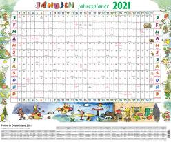 Janosch Jahresplaner 2021 von Janosch
