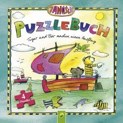 Janosch Puzzlebuch – Tiger und Bär machen einen Ausflug von Janosch, Steinfeld,  Lena