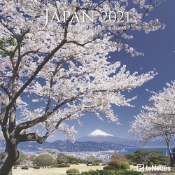 Japan 2021 – Wand-Kalender – Broschüren-Kalender – 30×30 – 30×60 geöffnet – Reise-Kalender